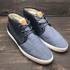 Aldo Denim Sneakers Size 9